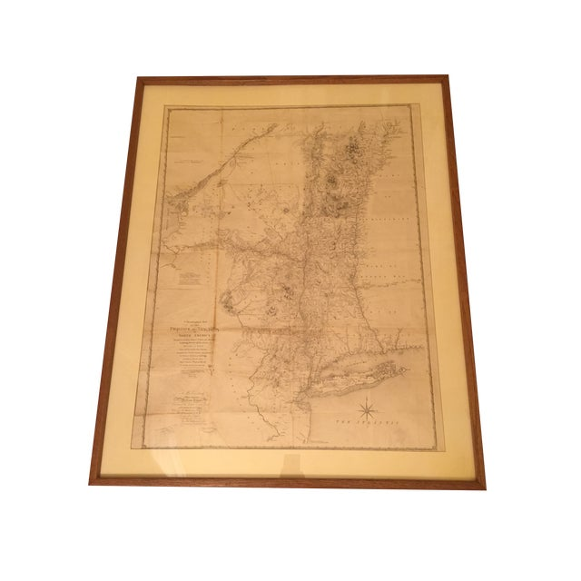 Antique Map of New York Province - Image 1 of 9