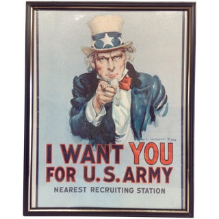 June 1968 Uncle Sam Recruiting Poster