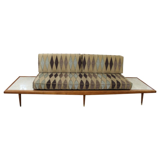 Mid Century Modern Adrian Pearsall Floating Sofa - Image 1 of 9