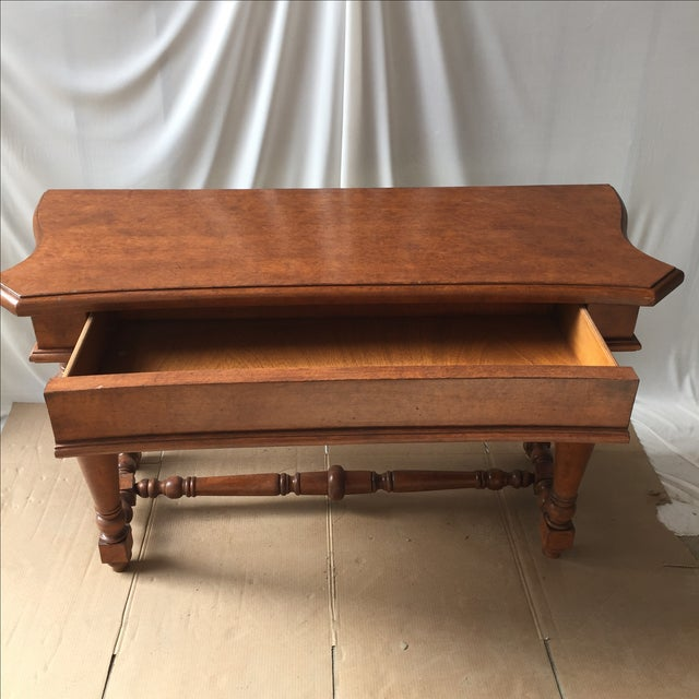 Transitional Wooden Console - Image 3 of 4