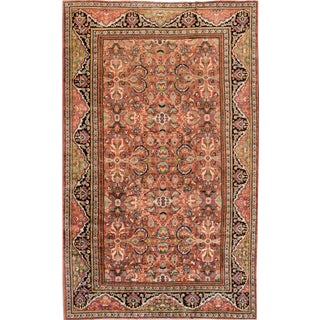 "Apadana - Antique Mahal Rug, 9'5"" x 15'6"""