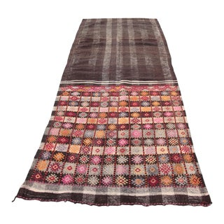 Handmade Anatolian Kilim Rug - 8'1'' x 3'6''