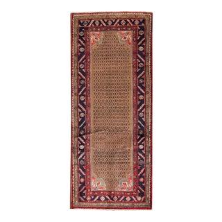 "Apadana - Vintage Persian Rug, 4' x 9'8"""