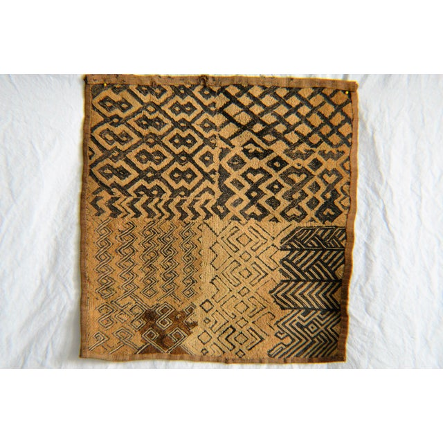 African Kuba Raffia Cloth - Image 2 of 4