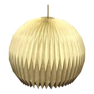 Rare Le Klint Denmark Mid-Century Modern Lamp Shade Fixture Chandelier Lighting
