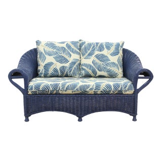 Lloyd Loom Style Costa Rica Wicker Sofa