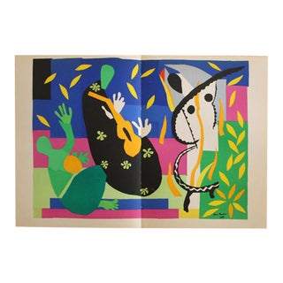 "1952 Henri Matisse ""Tristesse Du Roi"" Original Lithograph"