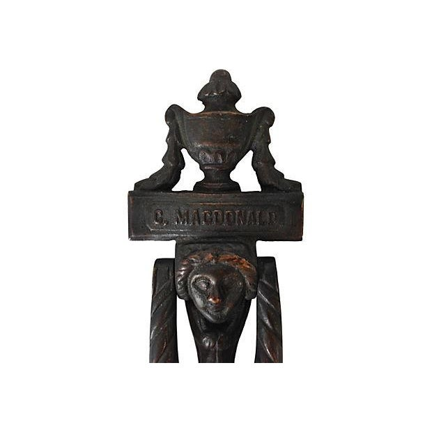 Image of C. Macdonald Victorian Door Knocker