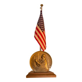 Freedoms Foundation at Valley Forge Medal & Flag