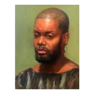 Original Oil Portrait of a Man
