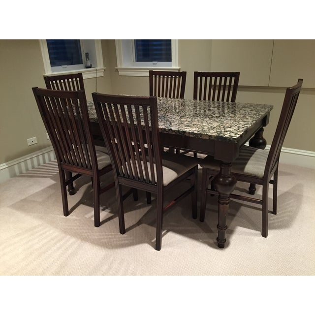 Arhaus Furniture Dining Set and Table & 6 Chairs - Image 2 of 4