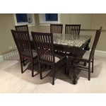 Image of Arhaus Furniture Dining Set and Table & 6 Chairs