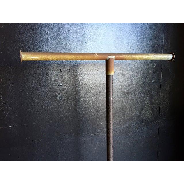 Image of Vintage Industrial Store Display T Bar Hanger