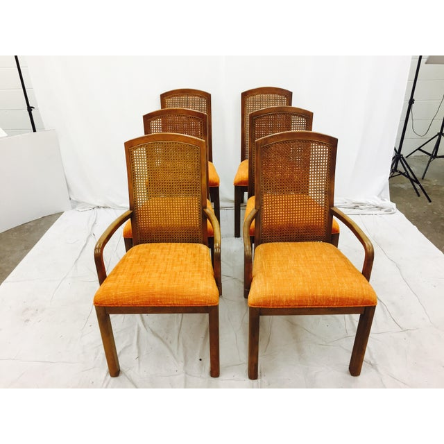 Vintage Dixie Mid-Century Dining Chairs - Set of 6 - Image 8 of 11
