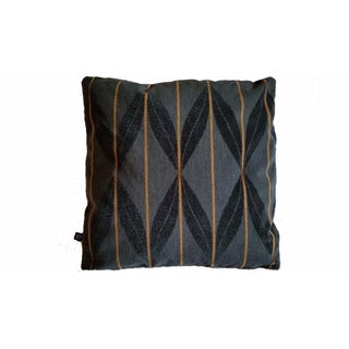 Arc Com Fanfare Wool Epingle Charcoal Pillow Cover