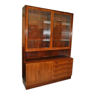 Danish Rosewood Cabinet Circa 1960's
