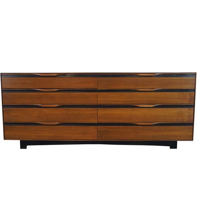 Image of Vintage Walnut Dresser by John Kapel