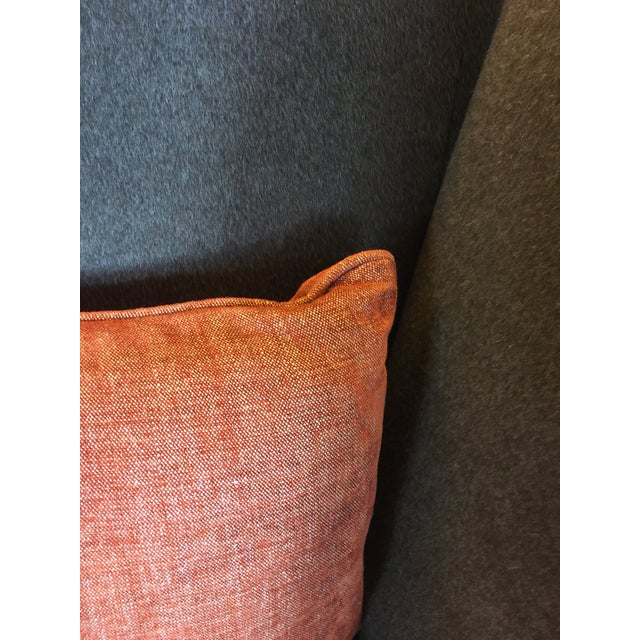 Image of Knoll Brown Mohair Sofa