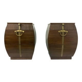 Bert England for John Widdicomb Side Tables - a Pair