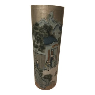 Chinoiserie Painted Pedestal