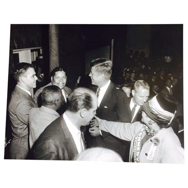 Original Charles Harris JFK Supporters Photograph - Image 1 of 7