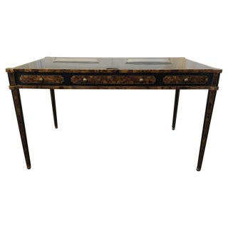 Maitland Smith Tessellated Pen Shell Partner Desk