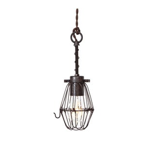 Wire Bulb Cage Trouble Light Pendant