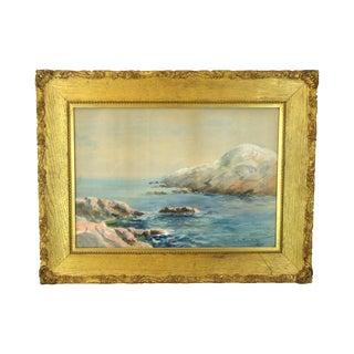 Henry Plympton Spaulding Orig. Watercolor Painting