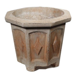 1930s Art Deco Cement Planter