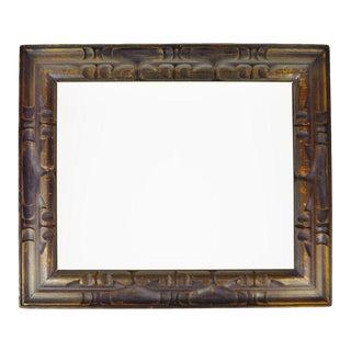 Vintage Carved Wood Picture Frame