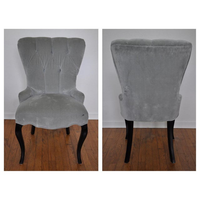 Barbara Barry for Baker Furniture Tufted Chair - Image 3 of 5