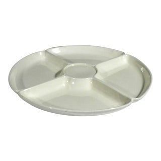 Wedgwood Creamware Circular Hors d'oeuvres Dish or Pickle Tray
