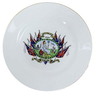 1924 British Exhibition Wall Plate