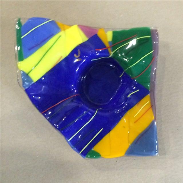 Memphis Studio Art Glass Bowl - Image 2 of 6