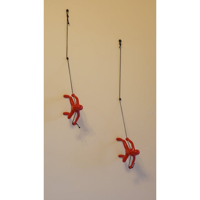Red Climbing Man Wall Art - Image 3 of 3