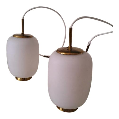 Bent Karlby China-Lamps - A Pair - Image 1 of 5
