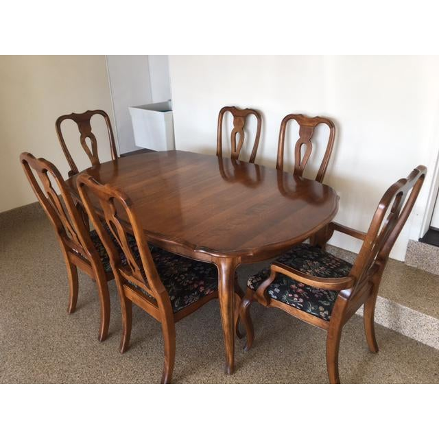 Ethan Allen Country French Dining Set