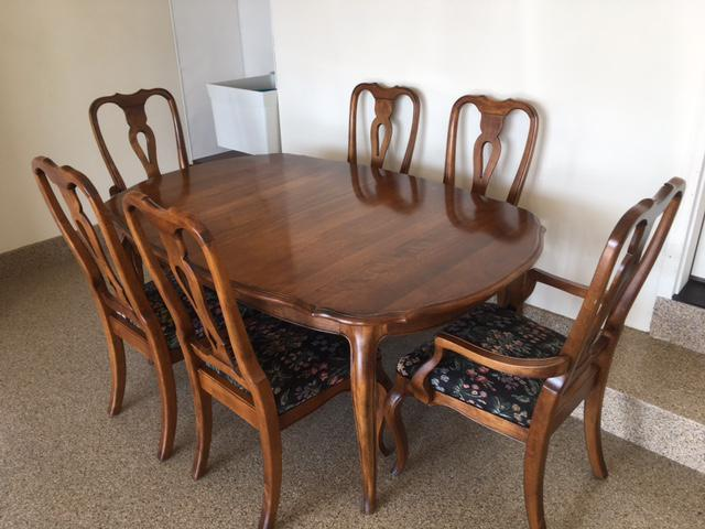 Ethan Allen Country French Dining Set   Image 9 Of 11