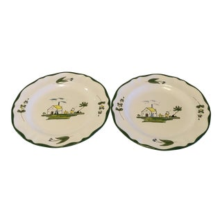 Varages Salad Plates - A Pair