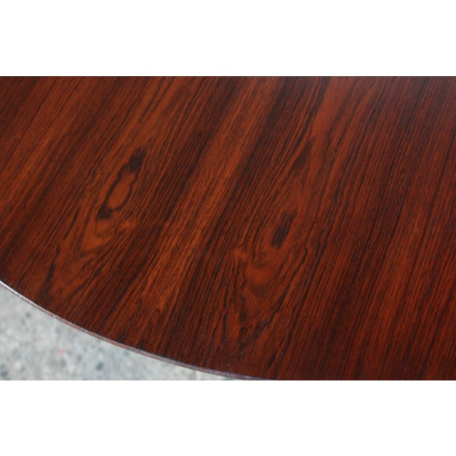 Six-Star Series Rosewood Table by Arne Jacobsen for Fritz Hansen - Image 5 of 10