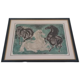 Hans Erni Pencil Signed & Numbered Lithograph