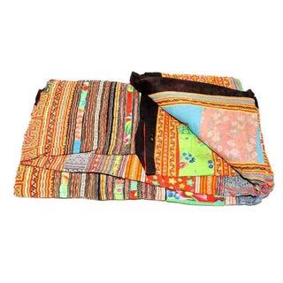 Multi Hued Hmong Blanket