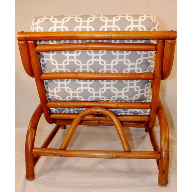 Ritts Tropitan Bamboo Lounge Chair - Image 4 of 6