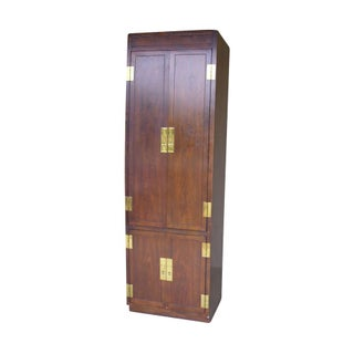 Ethan Allen Walnut Tall Cabinet