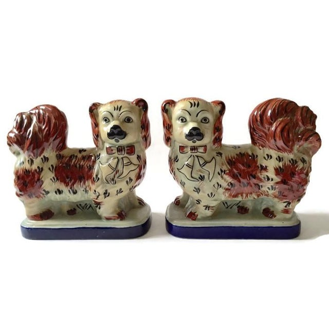 Vintage Tibetan Chinese Imperial Dogs - A Pair - Image 2 of 6