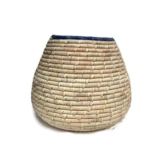 Vintage Woven Cobra Basket Snake Charmer - Image 3 of 5