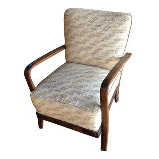 European Mid-Century Modern Armchair
