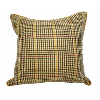 "Vintage Ralph Lauren ""Devon"" Plaid Pillow"