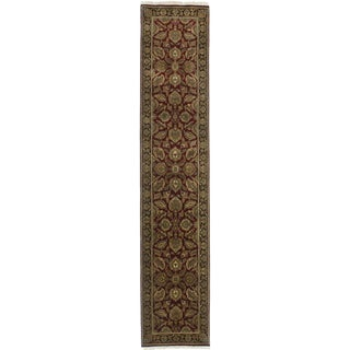 "RugsinDallas Persian Style Hand-Knotted Runner - 2'6"" X 12'5"""