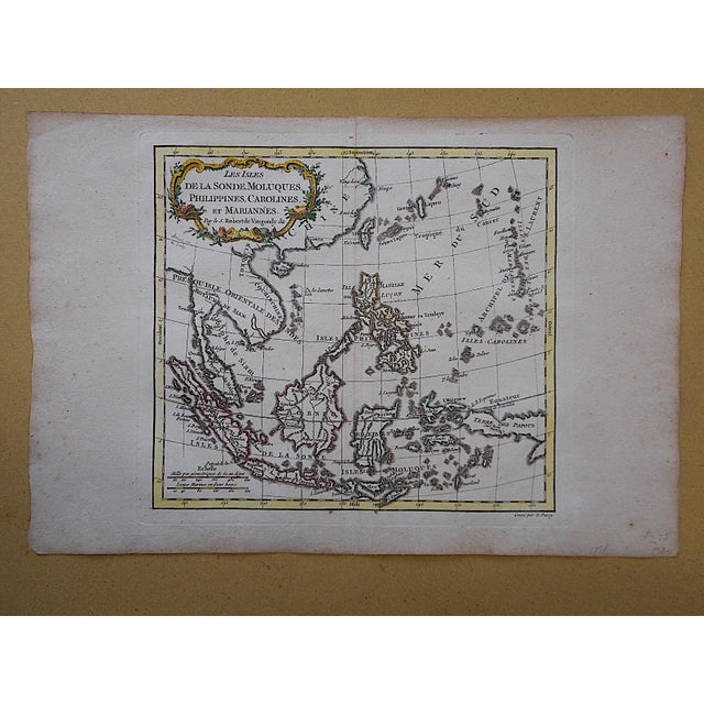 Antique 18th C. Map-Phillipines-South Sea Islands - Image 3 of 3